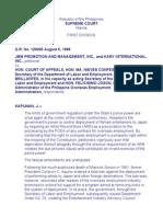 37. JMM Promotions v. CA (260 SCRA 319)