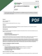 NTP 199 Reconocimientos Médicos de Trabajadores Expuestos a Plaguicidas (PDF, 254 Kbytes)
