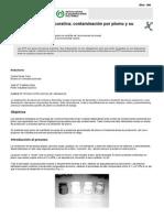 NTP 194 Cerámica Decorativa Contaminación Por Plomo y Su Control Ambiental (PDF, 315 Kbytes)
