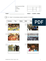 Soalan Ujian 1 Moral 2015