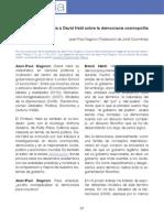 Periferiacpg.2014. j.p. Gagnon. Entrevista a David Held Sobre La Democracia Cosmopolita