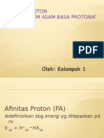 Afinitas Proton Selesai