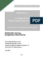 PEREYRA-CABRERBA PERTUSATTI - Publicacion 1 Los Hijos de Noé. Pueblos, Lenguas, Tierras y Naciones