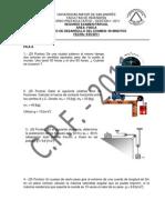 Segundo Examen Parcial Área Fisica Fecha 4-05-2011 A