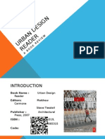 Urban Design Reader - book Review