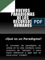 Nuevos Paradigmas de Los Rrhh