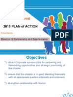Plan Of Action Director of Partnership