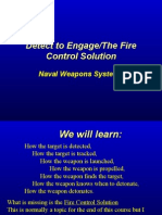 Detect to Engage - Fire Control Solution