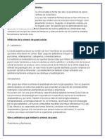 Mecanismos de Acción de Los Antibióticos.