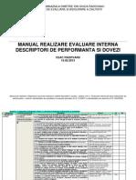 Manual (Propriu) Realizare Evaluare Institutionala Interna CEAC
