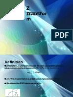 Z transform presentation