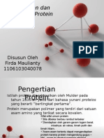 @Protein dan Sifat-Sifat Protein FIRDA MAULIANTY (1106103040078).ppt