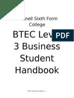Student Handbook Business
