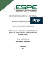 Requerimientos de Energia ESPEL