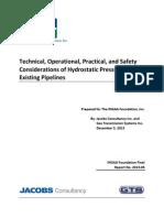 Hydrostatic Pressure Test White PaperFINAL12!5!13