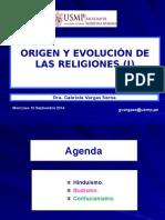 7-Septima Clase-Origen y Evolucion de Las Religiones- 10sep14