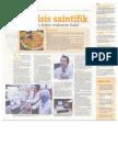Analisis Saintifik Sahkan Status Makanan Halal