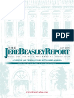 The Jere Beasley Report Jul. 2005