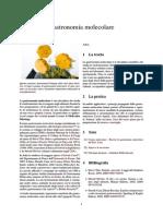 Gastronomia molecolare