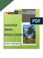Valuación de Terrenos Rústicos y Cultivo OK
