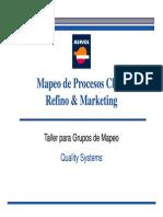 Mapeo de Procesos Clave Mapeo de Procesos Clave Refino & Marketing