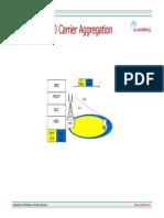 E-UTRA Rel. 10 Carrier Aggregation