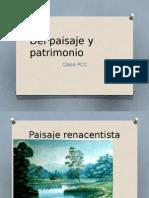 Del Paisaje y Patrimonio (conceptos básicos - material de clase)
