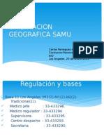 Orientacion Geograppt samufica Samu Cr