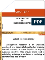 Intro to Business Research