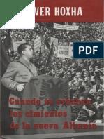 Enver Hoxha Cuando Se Echaban Los Cimientos de La Nueva Albania Esp