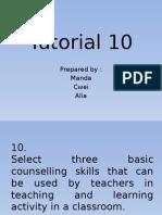 Edu Tutorial 10