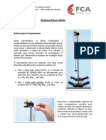 EXPERIMENTO IV P%EAndulosAcoplados e Sistema Massa Mola