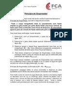 EXPERIMENTO I Principio de Arquimedes Densidade de Solidos Empuxo