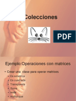 Ejemplo Coleccion Matrices