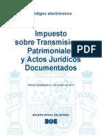 BOE-065 Impuesto Sobre Transmisiones Patrimoniales y Actos Juridicos Documentados