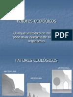 Fatores Ecolgicos Parte 1
