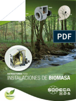 Ventiladores Biomasa SODECA