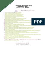 Farmaco Examenul Practic III-1