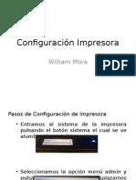Configuración Impresora