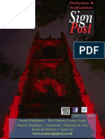 2015 Derbyshire Signpost