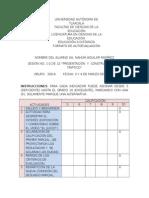 Formato de Autoevaluación Sesión 1 y 2 de 8.