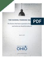 IO Analysis the School Funding Squeeze