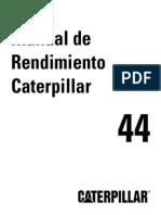 Manual de Rendimiento 44 Español