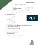 Ficha Semelhança de Triangulos 2