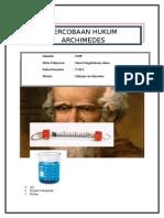LKS Hukum Archimedes