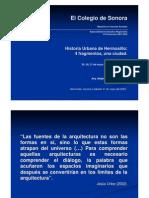 Historia Urbana de Hermosillo