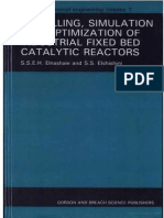 Modelling, simulation and optimization of industrial fix catalytic