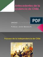 Antecedent Es Del a Independencia de Chile