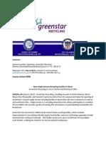 Green Star rec uling
