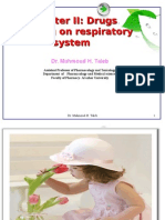 --Drugs Affecting on Respiratory System - Dental